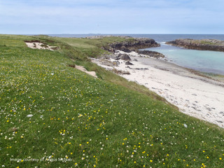 Scolpaig Bay and Machair