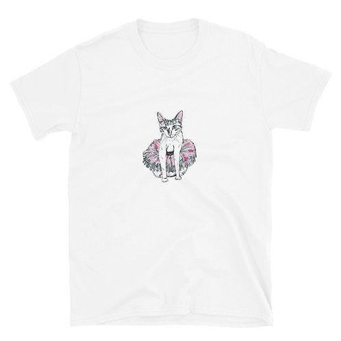 Cat in Tutu Short-Sleeve Unisex T-Shirt