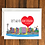 Thumbnail: Let's Go to Amsterdam Holiday greeting card A6