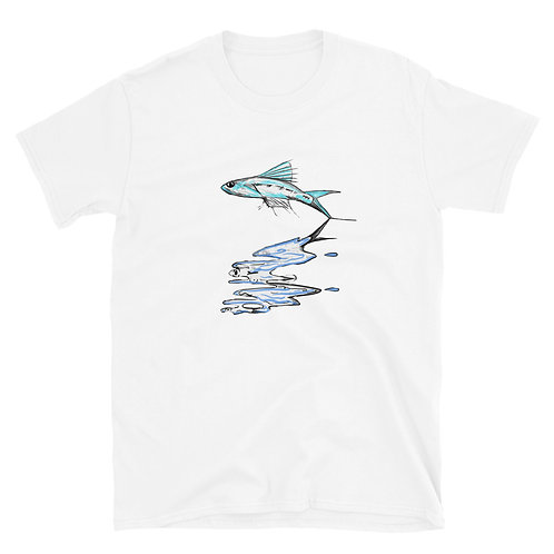 Fish Reflection Short-Sleeve Unisex T-Shirt