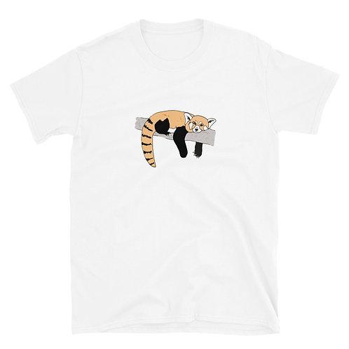 Red Panda Short-Sleeve Unisex T-Shirt