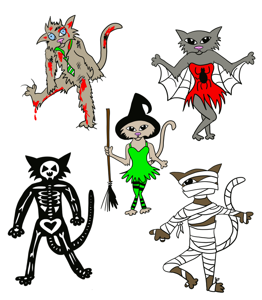 Top 10 cute cat Halloween outfit ideas for 2020