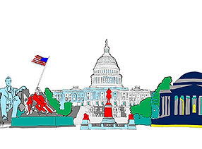 Washington greeting cards
