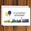 Thumbnail: Let's Go to Australia greeting card A6