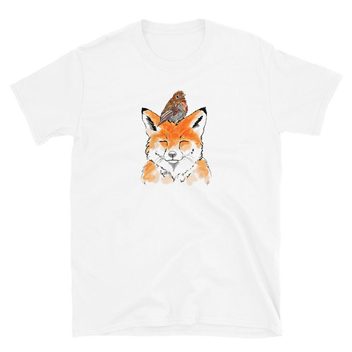 Fox and Robin Short-Sleeve Unisex T-Shirt