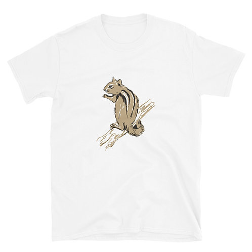 Chipmunk Short-Sleeve Unisex T-Shirt
