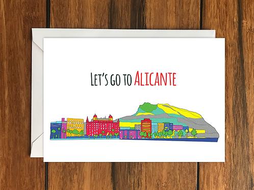 Original Alicante card