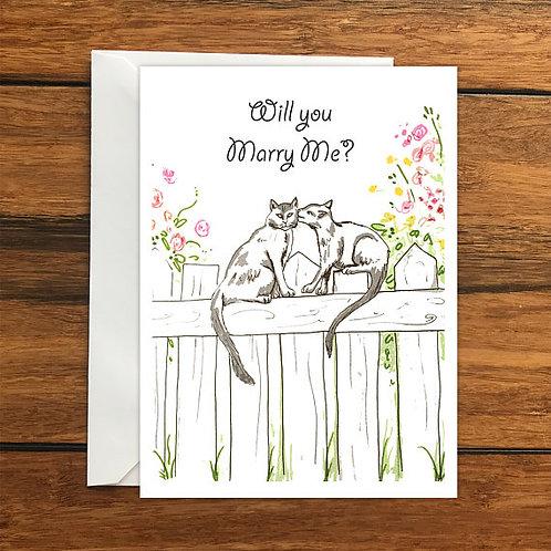 Wedding Proposal Greeting Card