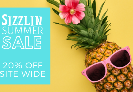 Making the most of the Sizzling Summer Sale!