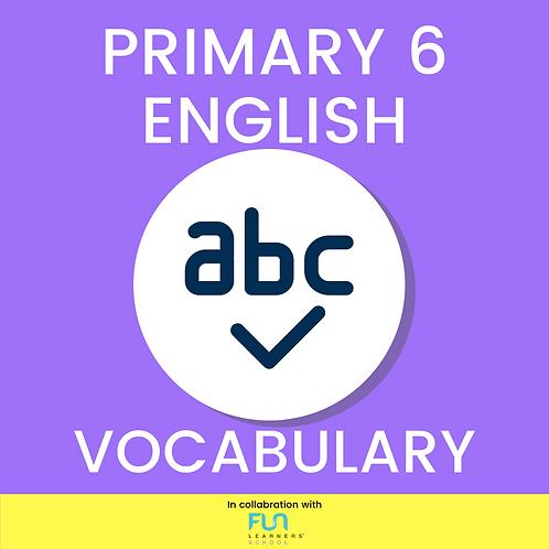 P6 EL - Vocabulary Training