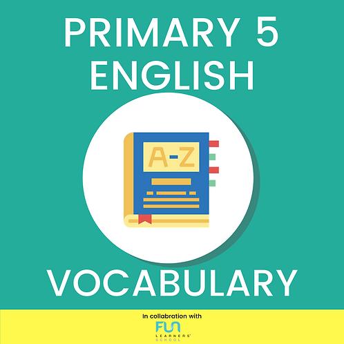 P5 EL - Vocabulary Training