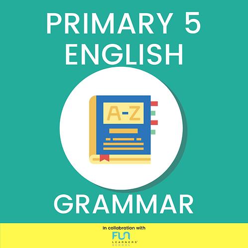 P5 EL - Grammar Training