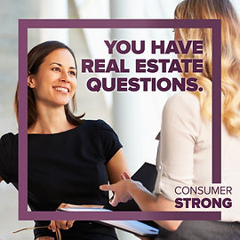 Consumer Strong - You Have Real Estate Q