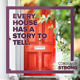 Consumer Strong - Every House Has A Stor