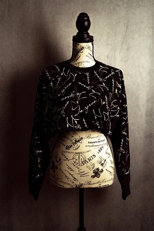 Signature Concept Crop Top (GOLD)