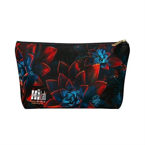 Dark Flower Accessory Pouch w T-bottom