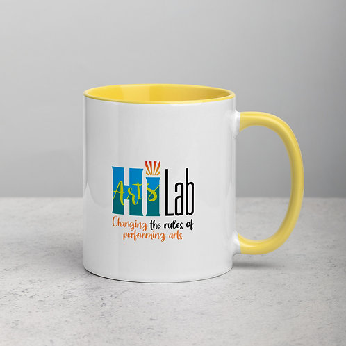 HI Arts Lab Mug with Color Inside