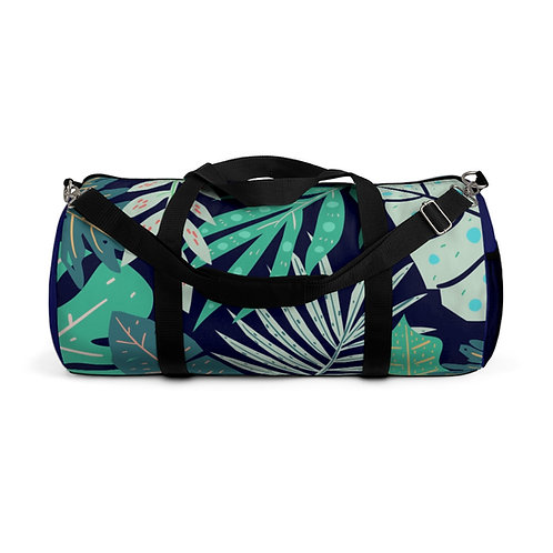 Tropical Leaves Duffel Bag