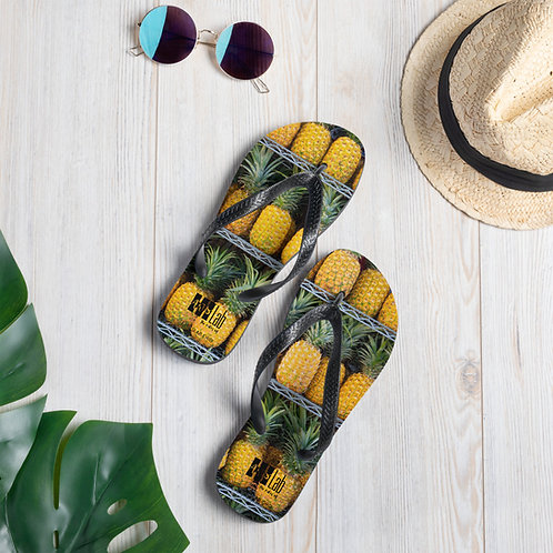 Pineapple Slippers