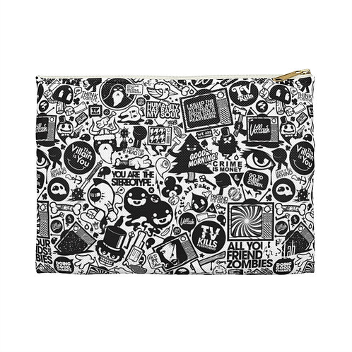 Love/Hate Accessory Pouch