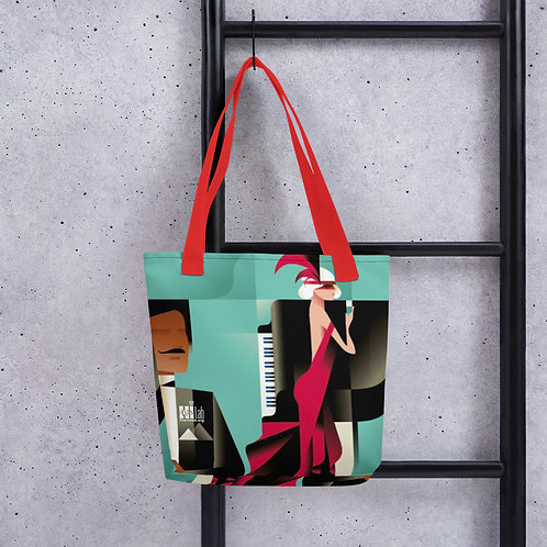 Art Deco Piano Tote bag
