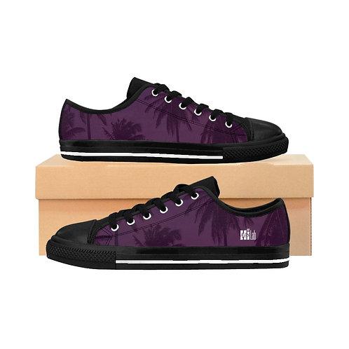 Purple Palm Men's Sneakers