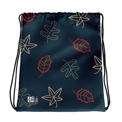 Fall Foliage Drawstring bag