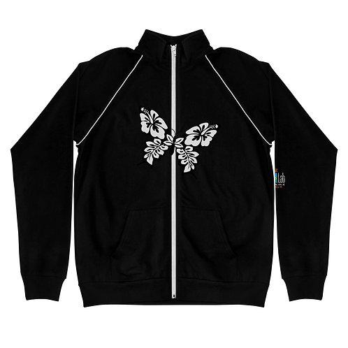 Butterfly Piped Fleece Jacket