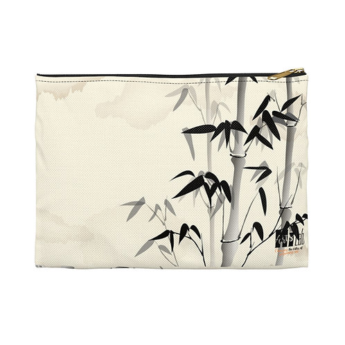 Bamboo Accessory Pouch
