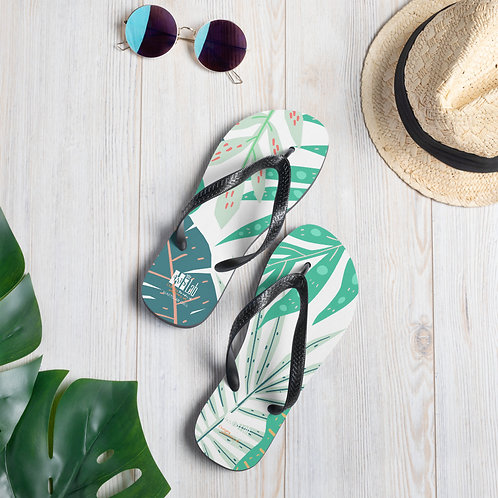 Monstera Slippers