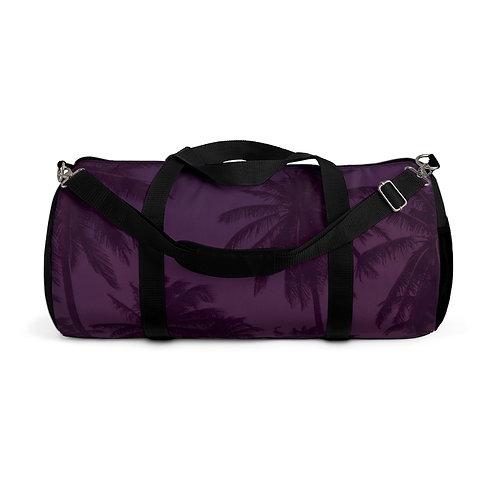 Purple Palms Duffel Bag