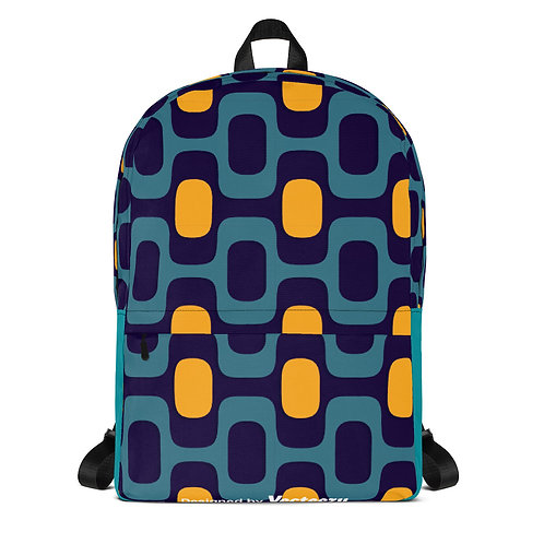 Geometric Pattern Backpack