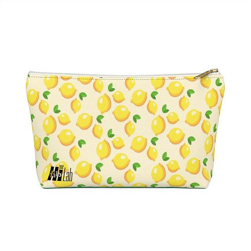 Lemon Accessory Pouch w T-bottom