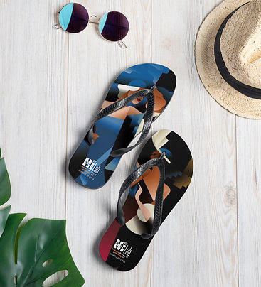 Art Deco Group Slippers