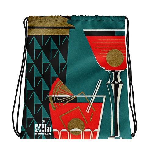 Cocktails Drawstring bag