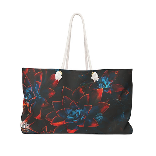 Dark Flower Weekender Bag