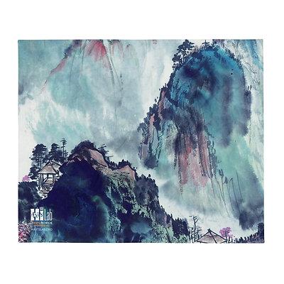 The Mountain Throw Blanket