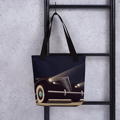 Art Deco Car ote bag