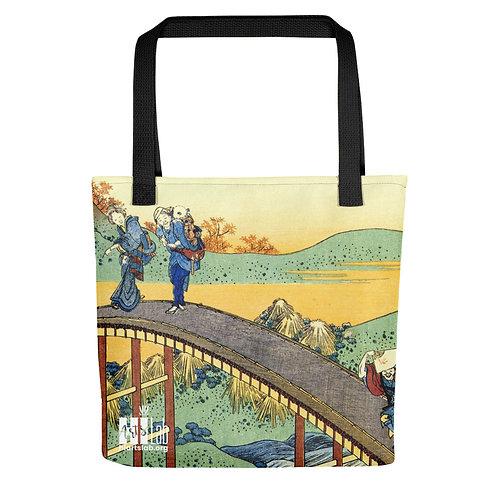 Japanese Bridge Tote bag