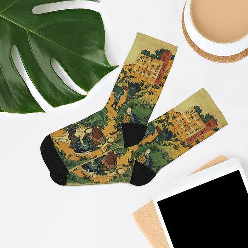 Asian Themed Socks