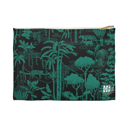 Tropical Forest Art Accessory Pouch