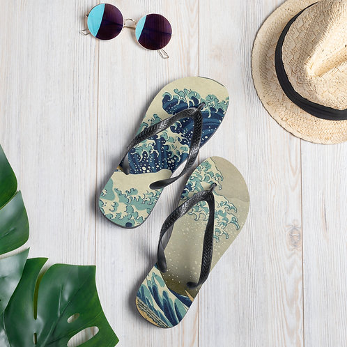 Japanese Wave Slippers