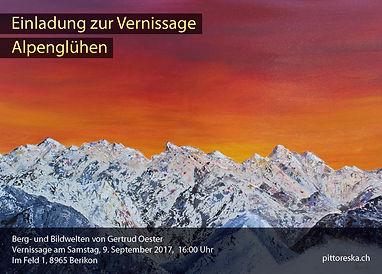 Vernissage Alpenglühen