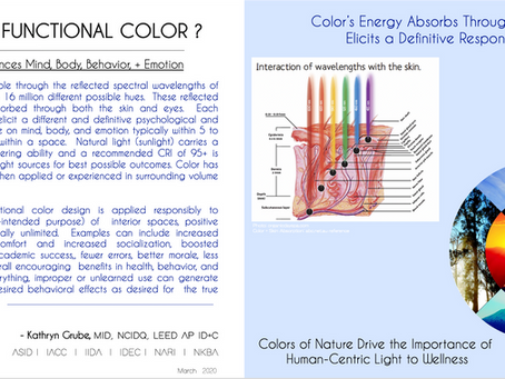 What is Functional Color and How is it used in Interior Design?