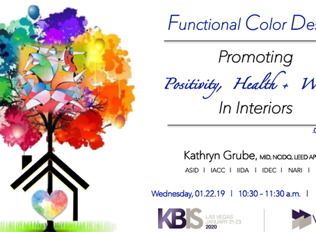 Join me at KBIS in Las Vegas in January!