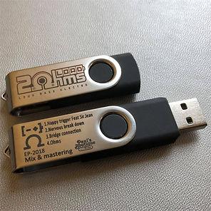 Clée USB 2OhmsLoad