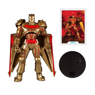 DC Multiverse Action Figure Batman Hellbat Suit (Gold Edition) 18 cm