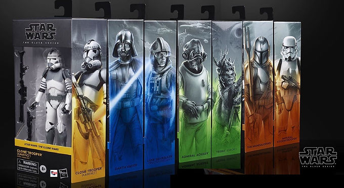 Star Wars Black Series Action Figure Full Wave 26