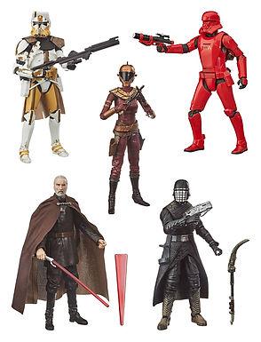 Star Wars Black Series Action Figures 2020 Wave 1