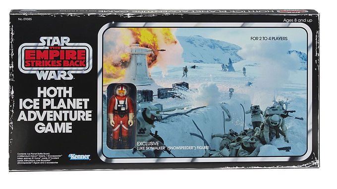 Star Wars Episode V Board Game with Action Figure Hoth Ice Planet Adventure Game